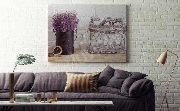 Bild Lavendel furs Wohnzimmer