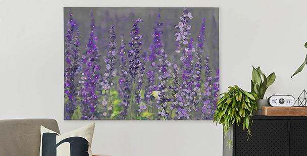 Bild Komposition mit Lavendel