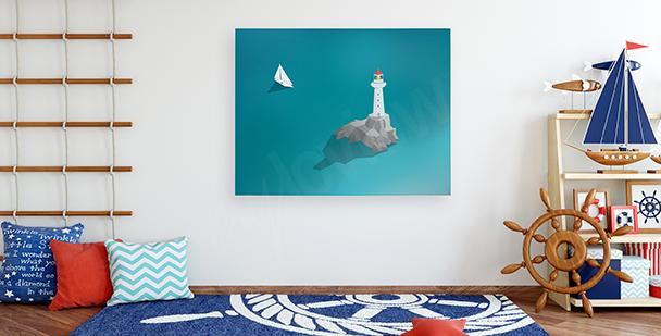 Bild Leuchtturm am Ozean