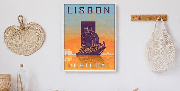 Bild Lissabon im Vintage-Stil