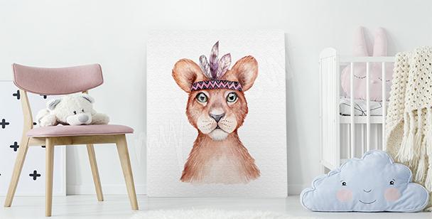 Bild Löwenjunge fürs Kinderzimmer