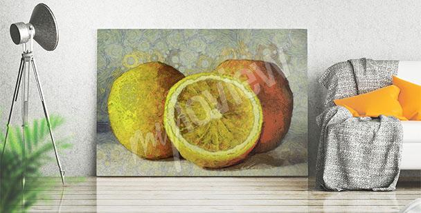 Bild Malerei – Obst