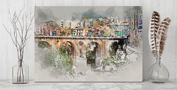 Bild malerische Kleinstadt