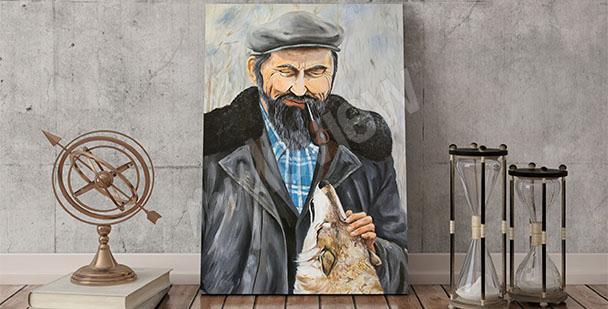 Bild Mann mit Hund
