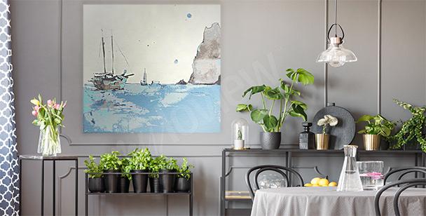 Bild Meer fürs Wohnzimmer