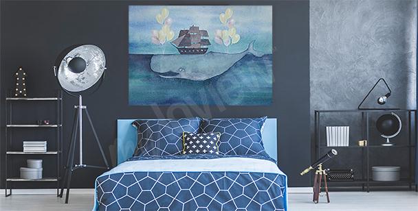 Bild Meer und Wal