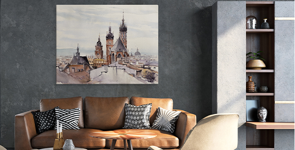 Bild mit Blick auf die Altstadt
