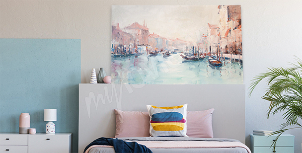 Bild mit einer venezianischen Landschaft