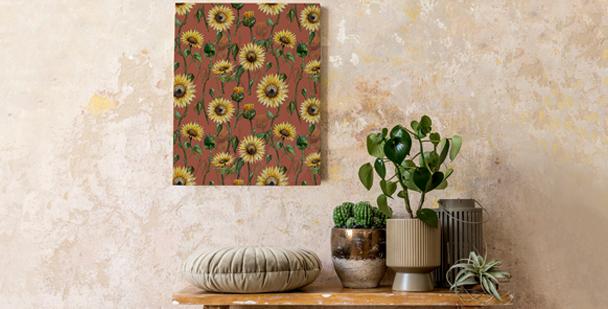 Bild mit einer Sonnenblume
