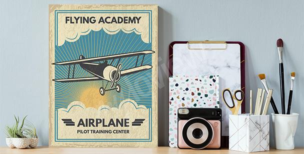Bild mit Flugzeug