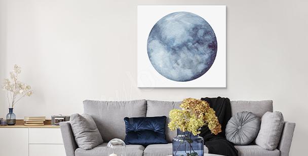 Bild mit Mond