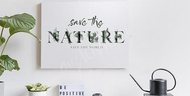 Bild mit Naturmotiv