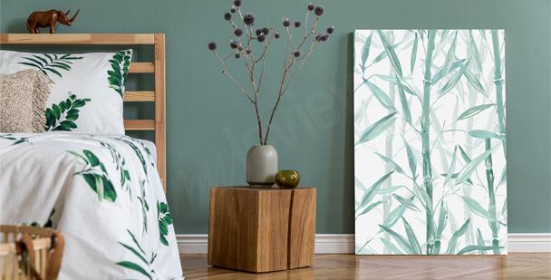 Bild mit Pflanze fürs Schlafzimmer