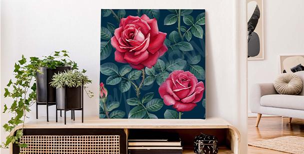 Bild Rose schwarz-weiß