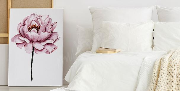 Bild bunte Blumen