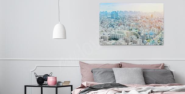 Bild mit Stadtpanorama