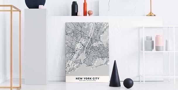 Bild mit Stadtplan