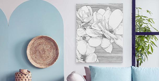 Bild Blumen für Schlafzimmer