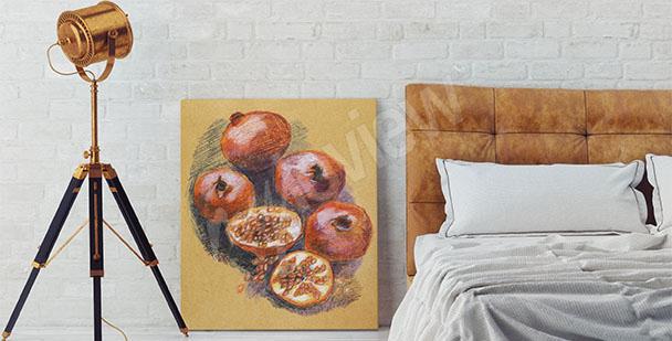 Bild Obst fürs Schlafzimmer