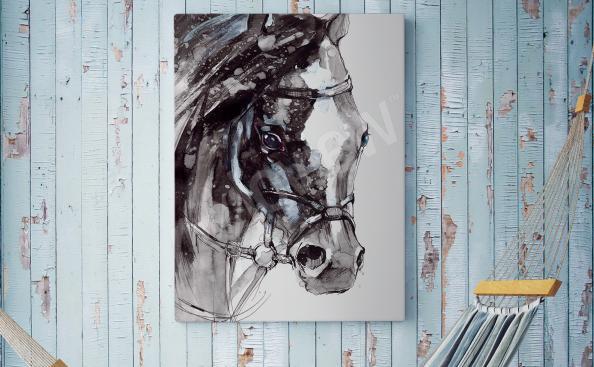 Bild Ölgemälde Pferd
