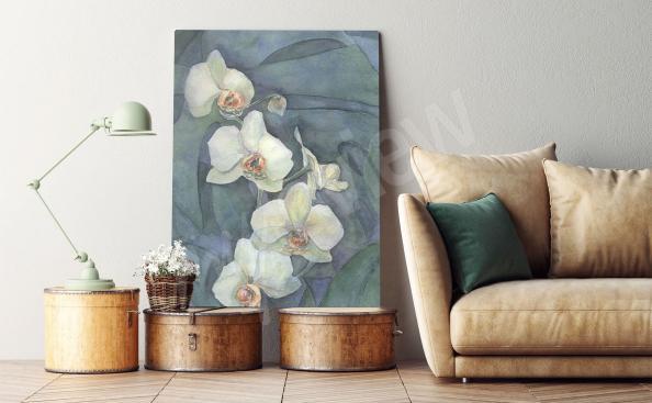 Bild Orchidee Malerei