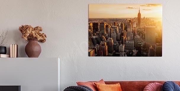 Bild NY schwarz-weiß