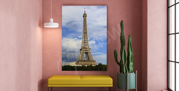 Bild Paris für den Flur