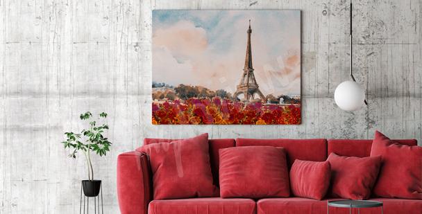 Bild Paris fürs Wohnzimmer