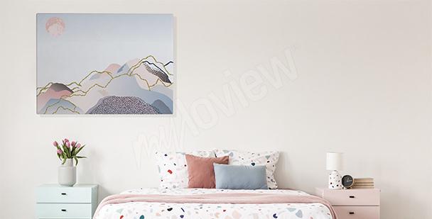 Bild fürs Schlafzimmer Orchidee