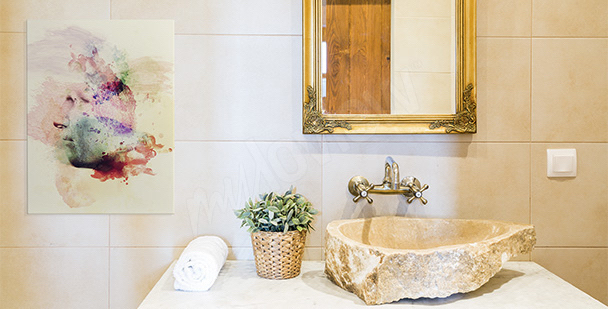 Bild für Badezimmer Palme