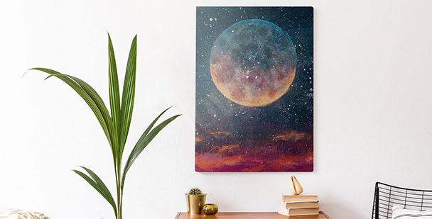 Bild Planeten und Sterne