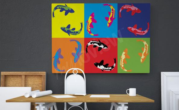Bild Pop-Art Farben