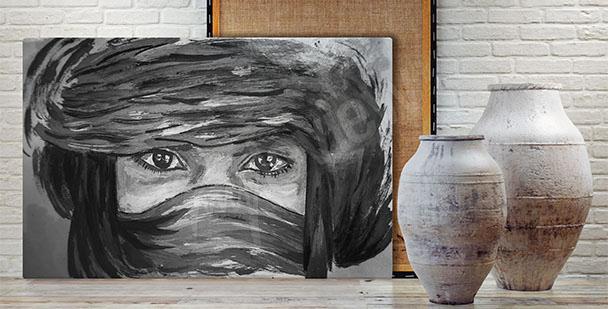 Bild Porträt – Beduine