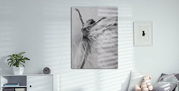 Bild Porträt einer Balletttänzerin