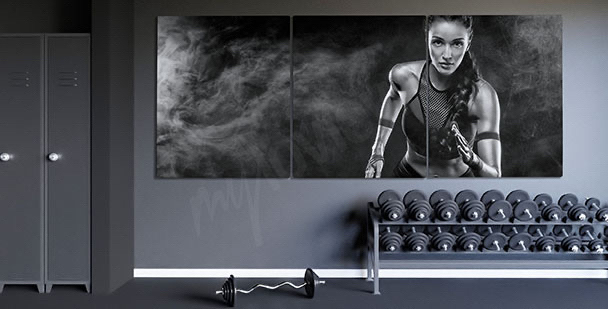 Bild Porträt einer Läuferin