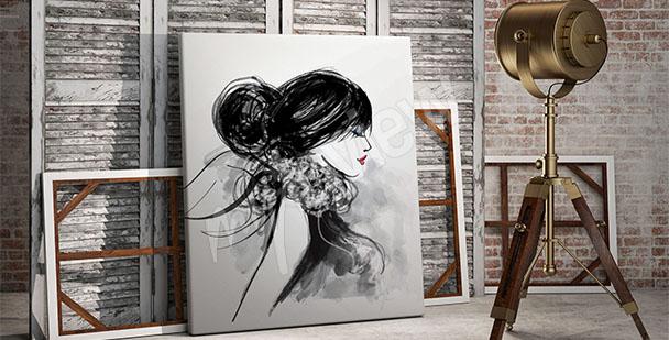 Bild Porträt fürs Wohnzimmer