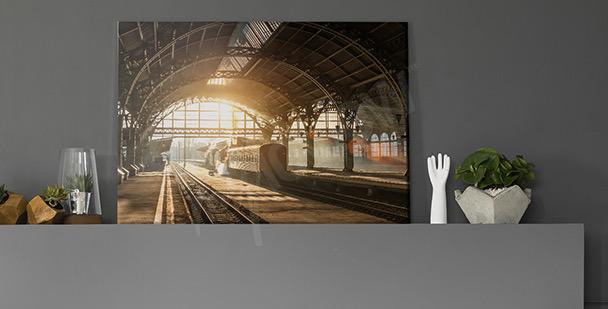 Bild Retro-Lokomotive