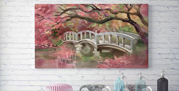 Bild romantische Brücke