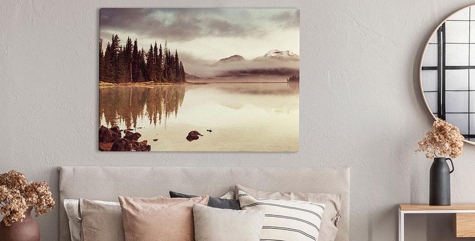 Bild romantische Landschaft
