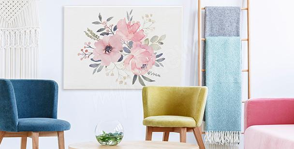 Bild rosa Blumen
