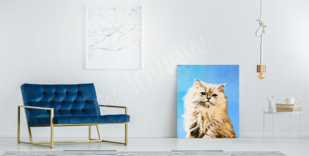 Bild rote Katze