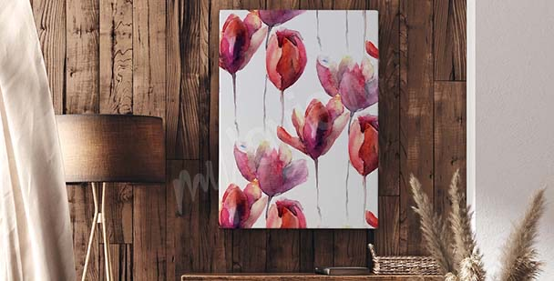 Bild Tulpen minimalistischer Stil