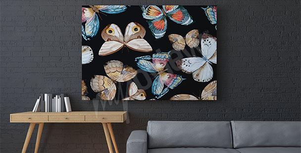 Bild Schmetterlinge fürs Wohnzimmer