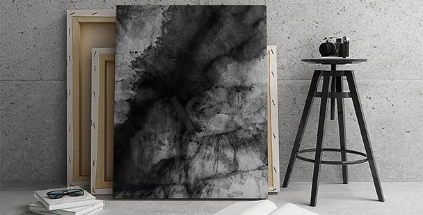 Bild schwarze Abstraktion