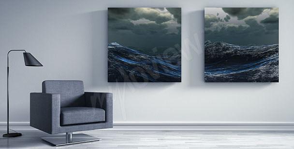 Bild Seewellen