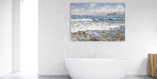 Bild Seewellen für Bad