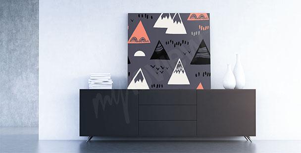 Bild Skandi-Stil: Gebirge