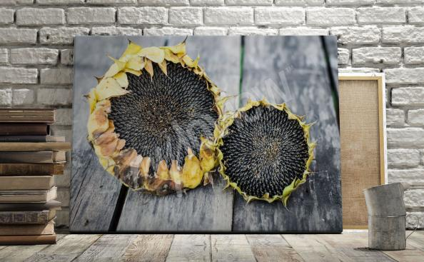 Bild Sonnenblumen im rustikalen Arrangement