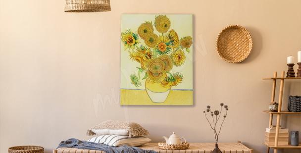 Bild Sonnenblumen mitten im Sommer