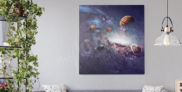 Bild Sonnensystem Planeten